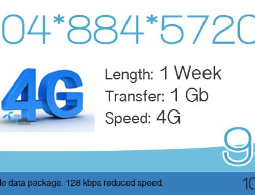 DTAC Happy 4G – 1GB for 99 Baht – 7 Days